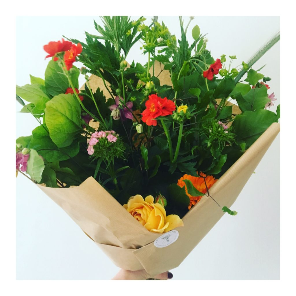Bouquet bio Liège, Ginger Flower