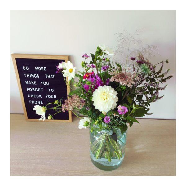 Bouquet de fleurs bio Liège, Ginger Flower