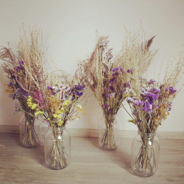 Grand bouquet fleurs séchées Ginger Flower