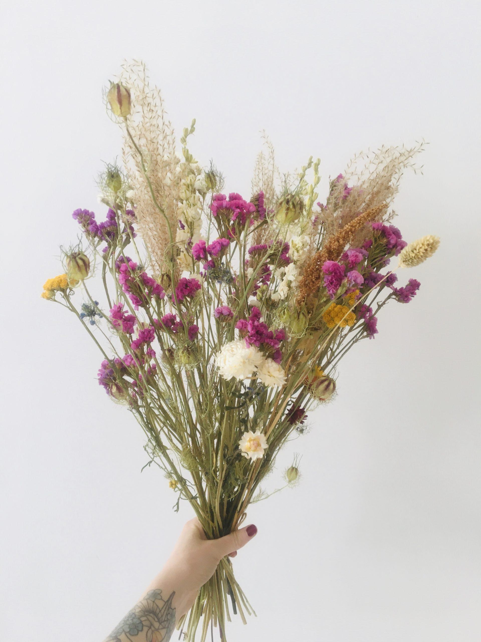 Maxi Bouquet De Fleurs Sechees Ginger Flower