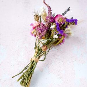 Mini bouquet fleurs séchées Ginger Flower