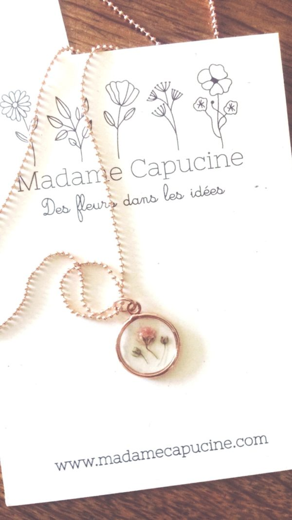 Collier Madame Capucine - Ginger Flower