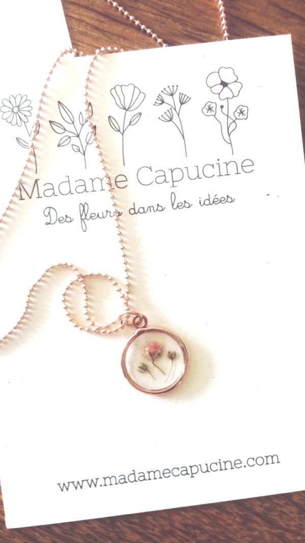 Collier Madame Capucine - Ginger Flower