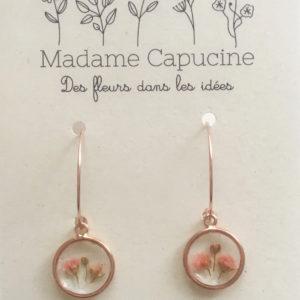 Bijoux fleuris - Ginger Flower Madame Capucine