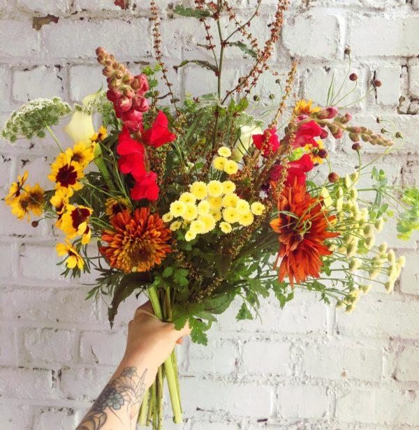 Ginger Flower - fleurs locales et bio Liège