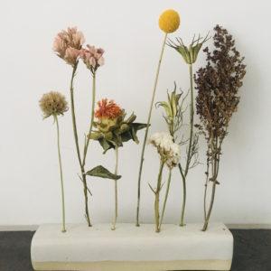Céramique et fleurs séchées Ginger Flower