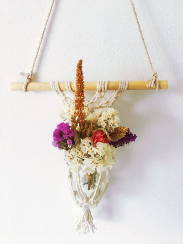 Macramé fleurs séchées Ginger Flower