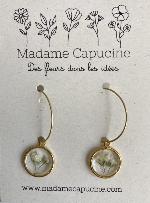 Bijou Madame Capucine - Ginger Flower