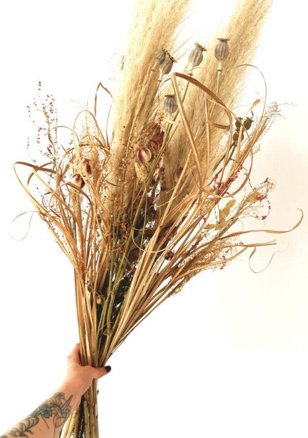 Bouquet de fleurs séchées Pampa