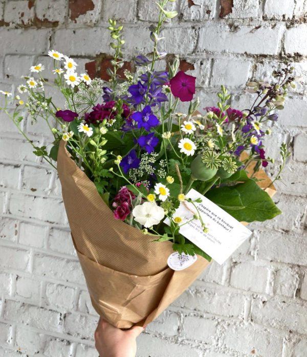 Ginger Flower fleurs locales et bio Liège