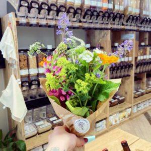 Petit bouquet fleurs bio Ginger Flower