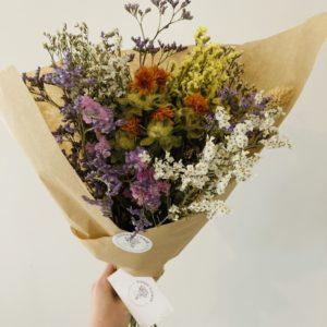 Bouquet de fleurs séchées Ginger Flower médium